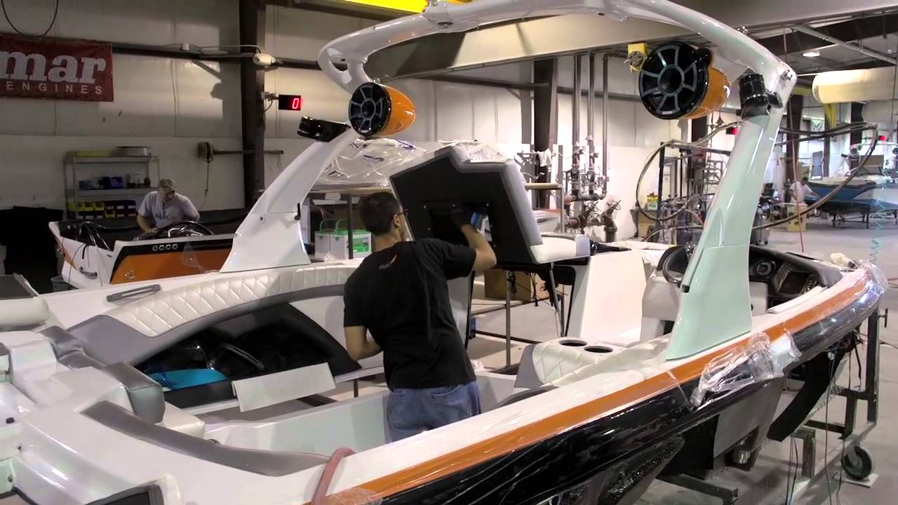 Tige Wakeboard Boats 2014 Factory