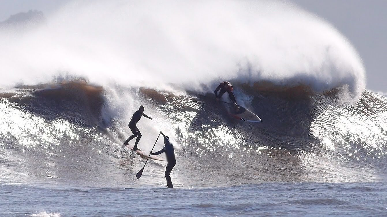 Stand Up Paddle Surf Wipeout Asturias