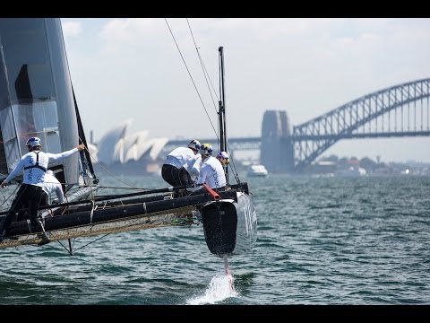 ORACLE TEAM USA Opens Training in Sydney