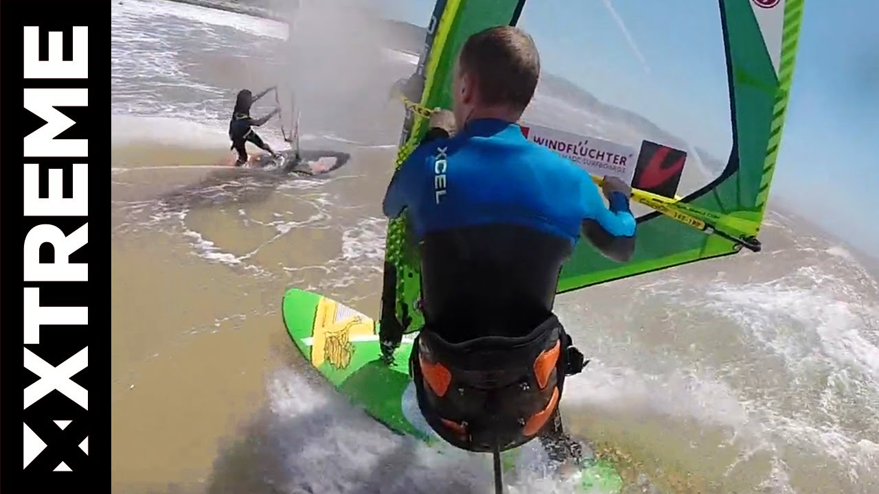 Go Pro Windsurfing in Moulay, Morroco