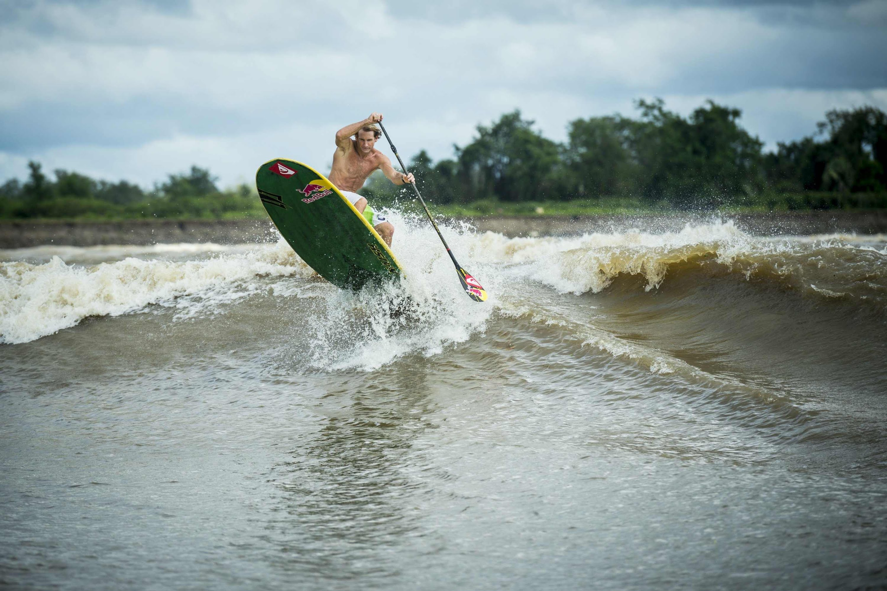Stand up Paddle Surfing on Amazon River – Red Bull