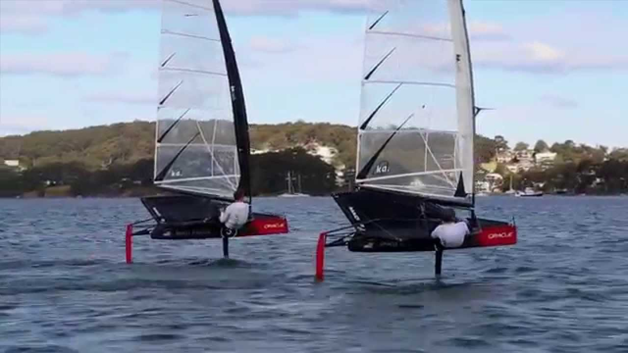 Andrew Campbell is Flying High at Foiling Camp
