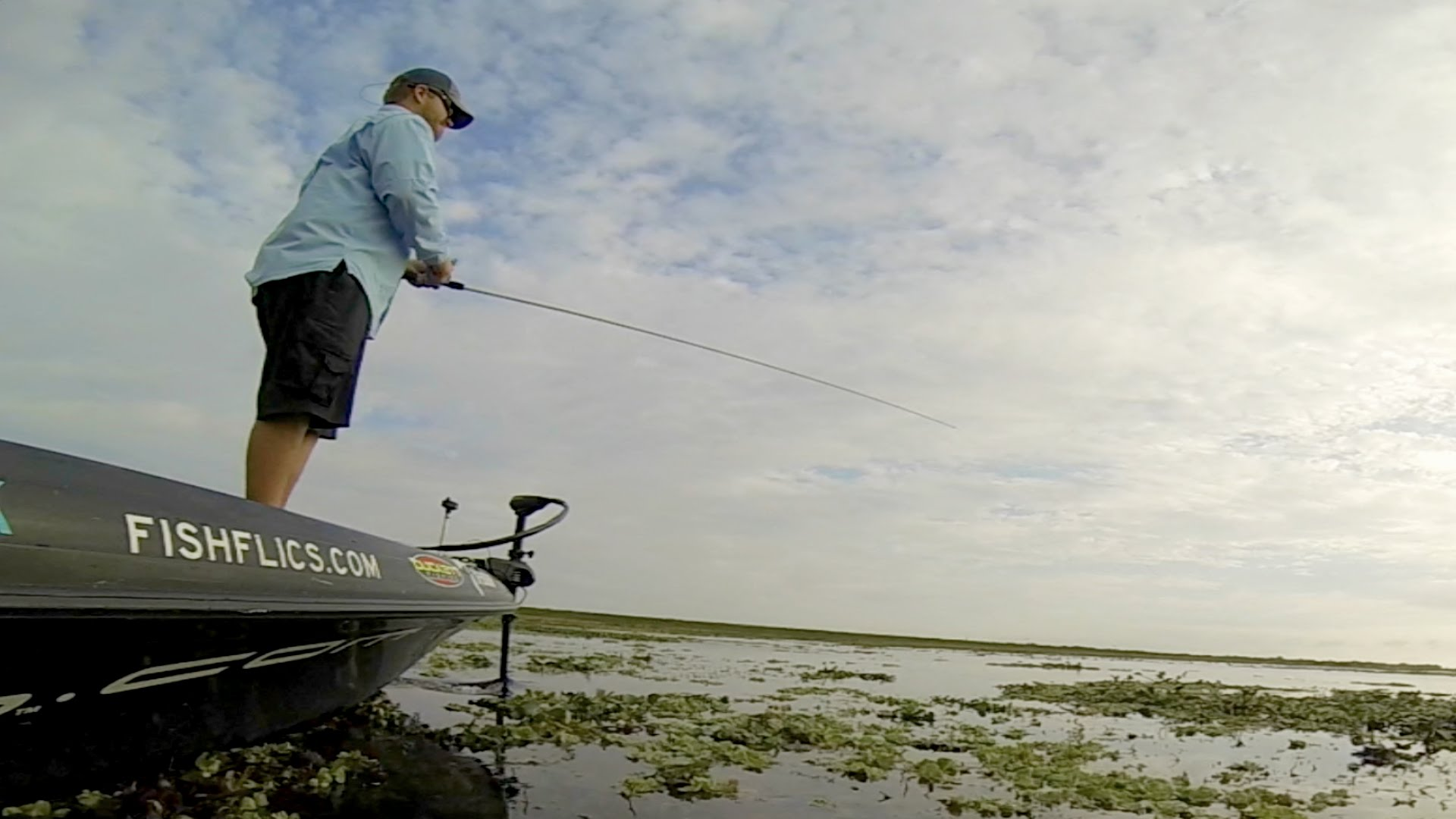 Bass Fishing With Shaye Baker by Go Pro