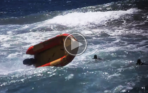 boat out of control