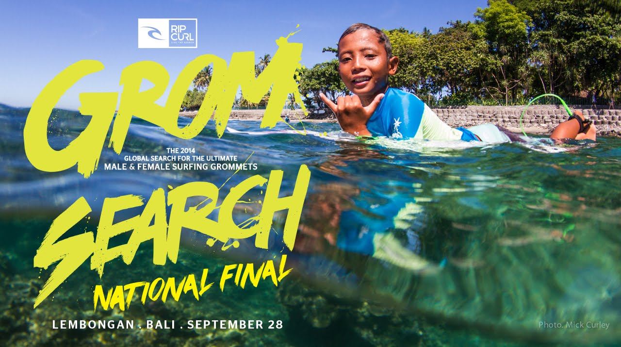 National Final Rip Curl GromSearch 2014 – Bali, Indonesia