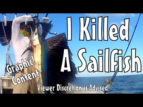 Fishing with Judah Clark – I Killed a Sailfish!