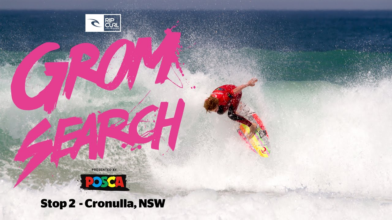 Rip Curl Pro Young Surfing GromSearch 2014-15 Australian