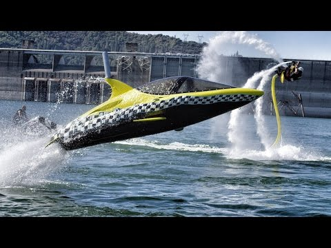 Robotic Dolphin and Flying Water Car!