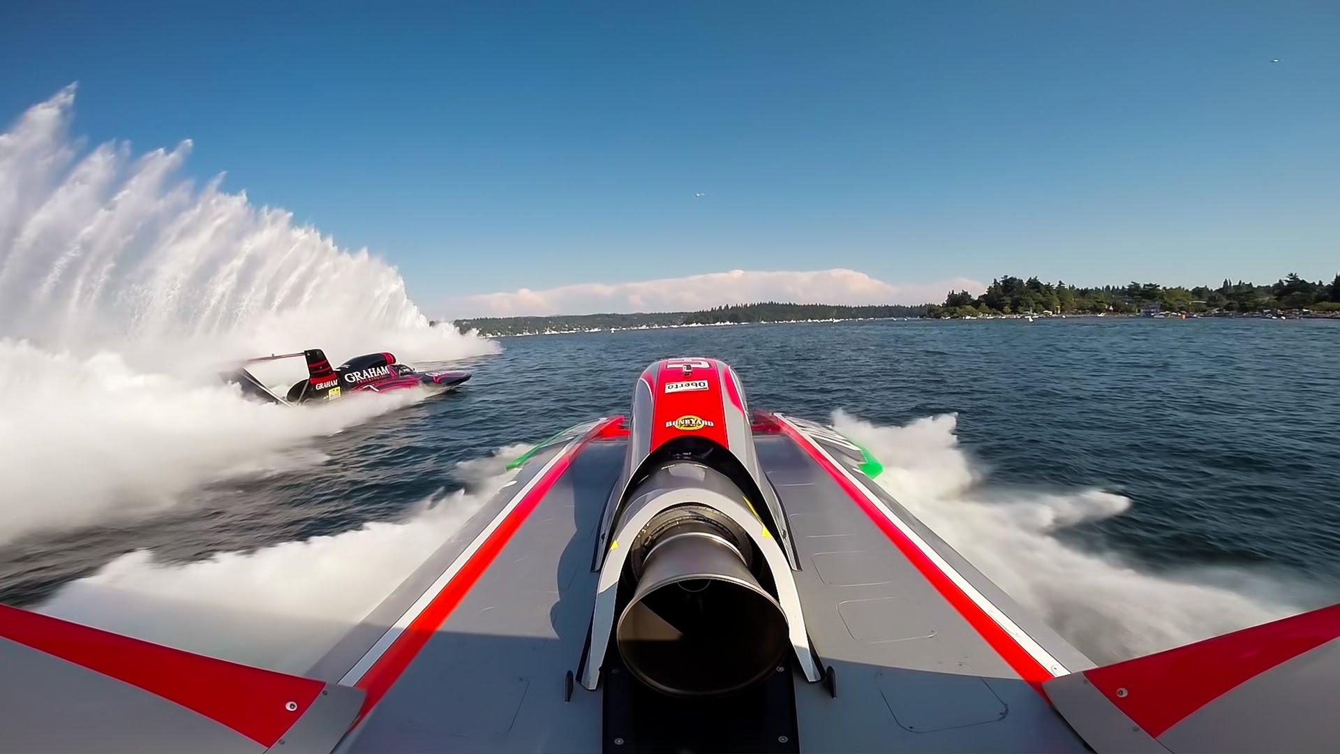 H1 Unlimited Full Speed Hydroplanes by Go Pro