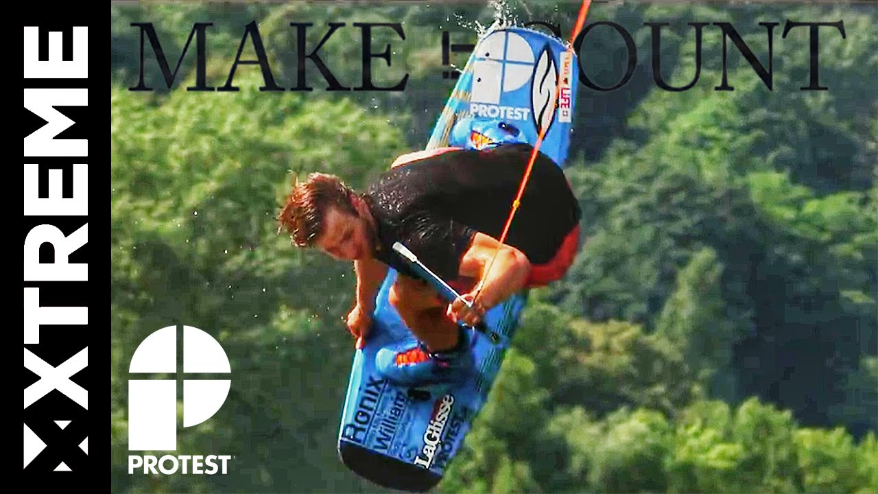 Make It Count – Lucas Langlois Wakeboarding Slow Motion