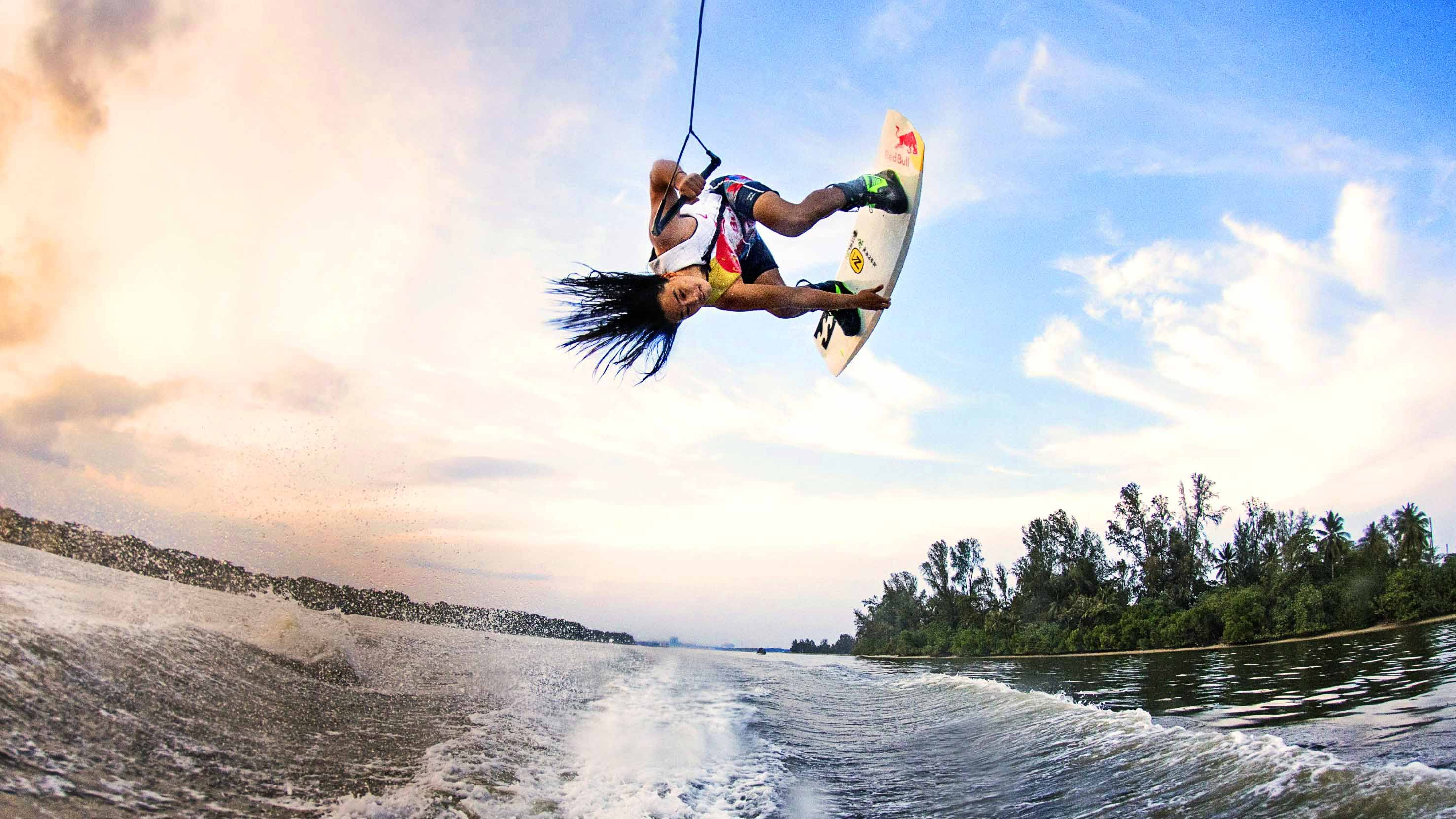 how to make a good wake for wakeboarding