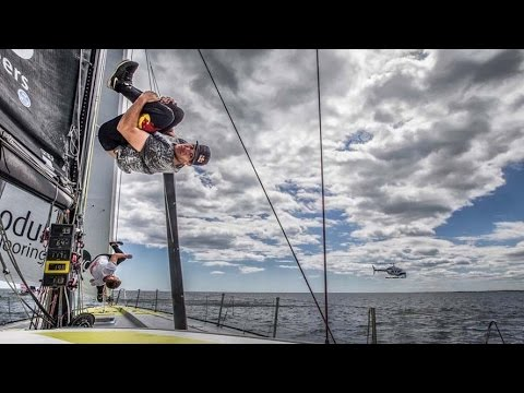 Freerunning On A Sailboat