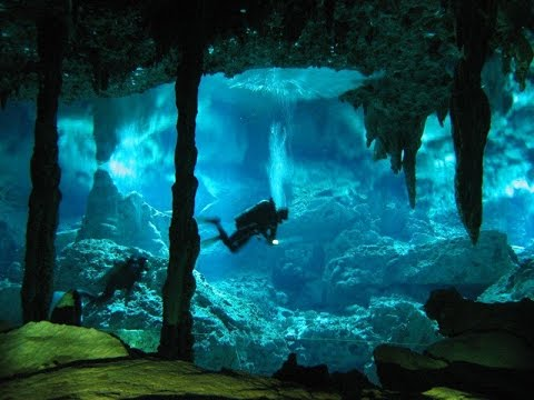 Cave Diving… Extreme Deep Underwater!