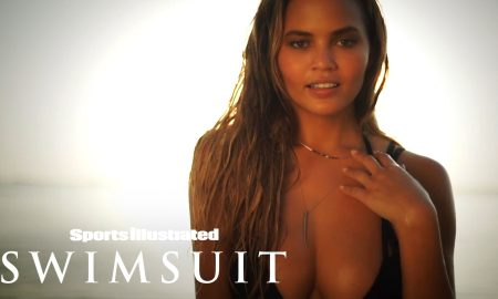 Chrissy Teigen's Sexiest Swimsuit Paradise Shoot